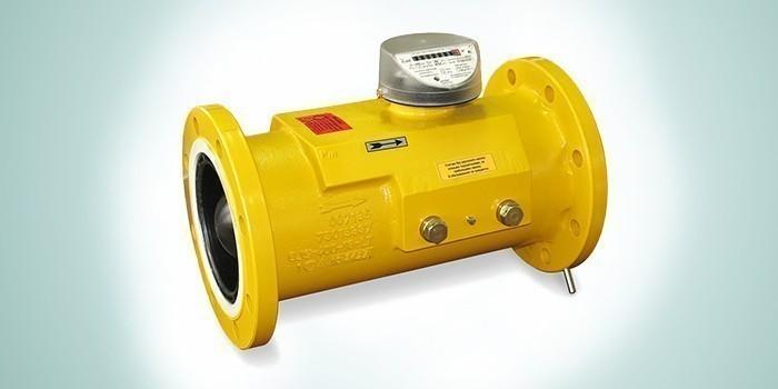 Газовый турбинный счетчик TRZ