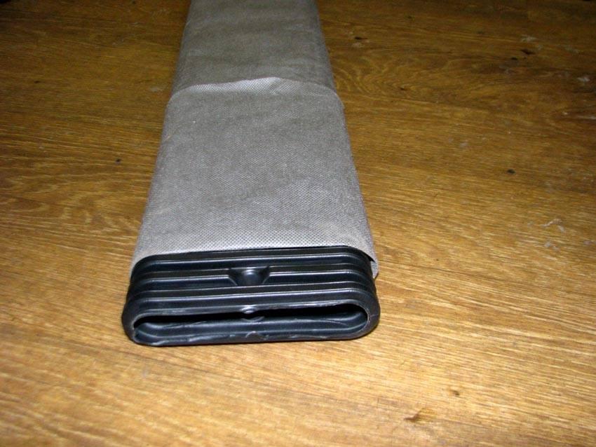 Плоская дренажная труба в геотекстиле