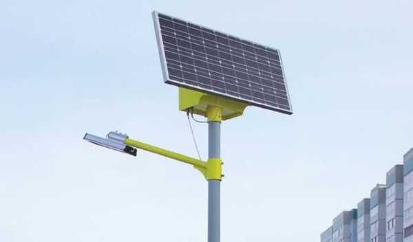 Уличные светильники получают батареи большей мощности