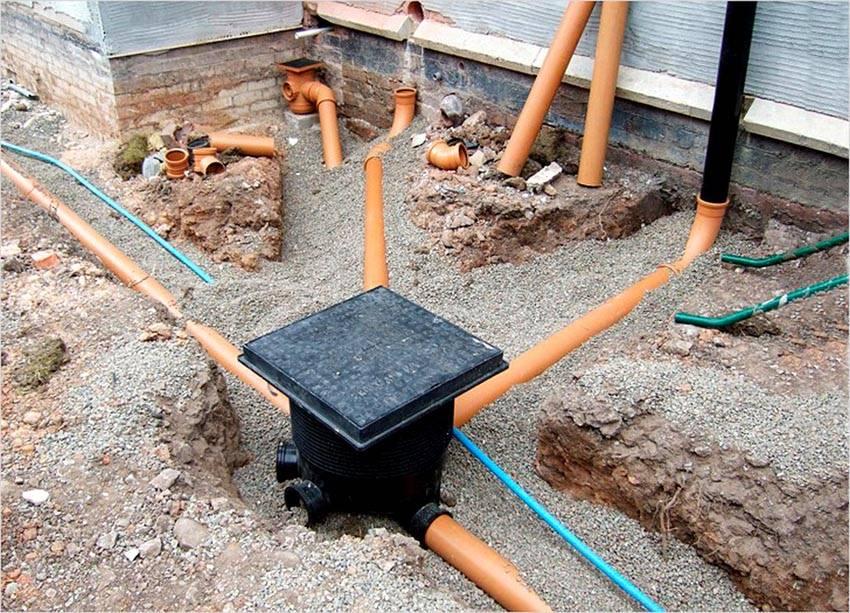 Правильно выполненный дренаж во много раз увеличит срок службы зданий и сооружений