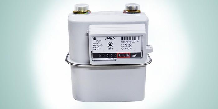 Бытовой механический газовый счетчик ВК-G 2.5 KromSchroder