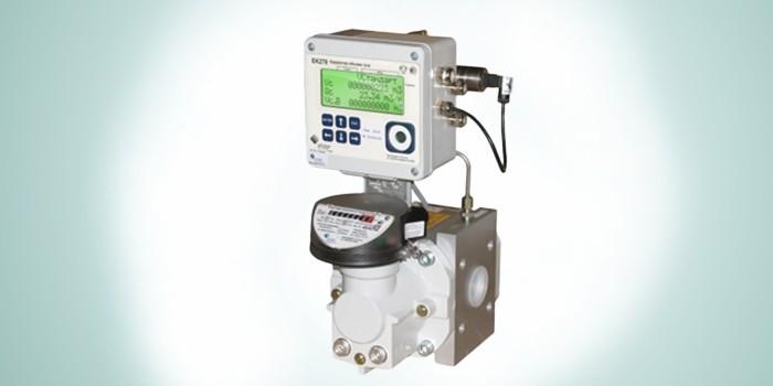 Газовый счетчик ротационного типа СГ-ЭКВз-Р