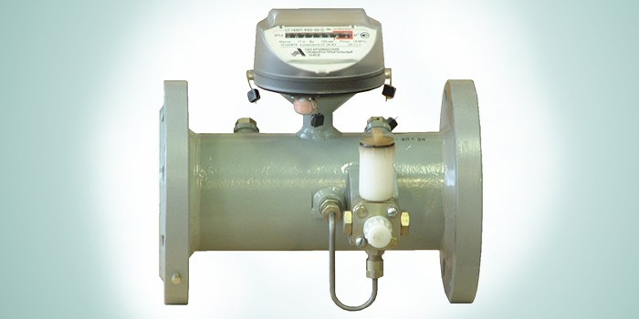 Счетчик газа турбинный СГ-16МТ-800-2 Ду 150