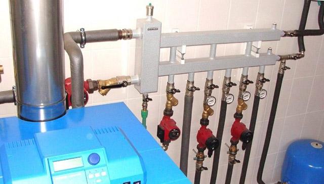 обвязка одноконтурного газового котла