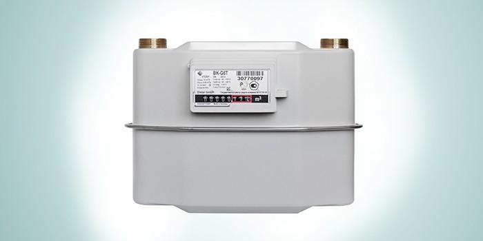 Механический бытовой газовый счетчикBK-G4T