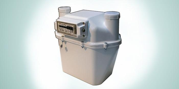 Газовый диафрагменный счетчик СГД-3Т G6