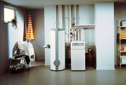 Оборудование с защитой от замерзания теплоносителя
