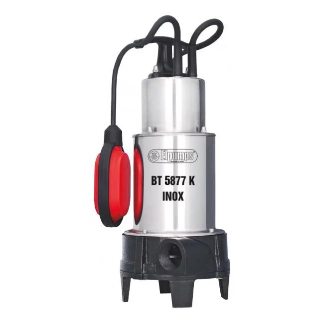 Elpumps BT 5877 K INOX – лучший производительный фекальный насос