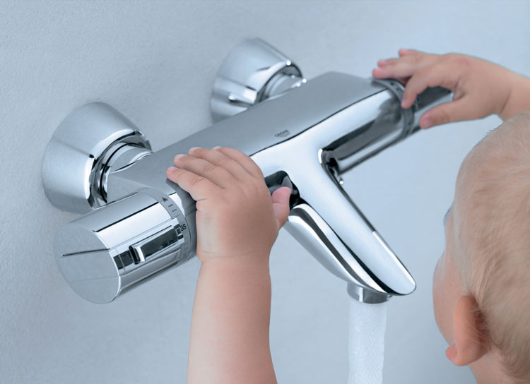 Термостатические смесители для ванной