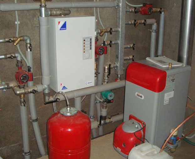 Отопительная система на газу