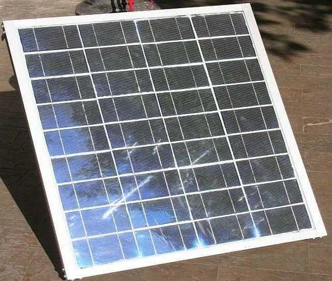 Это уже готовая солнечная батарея