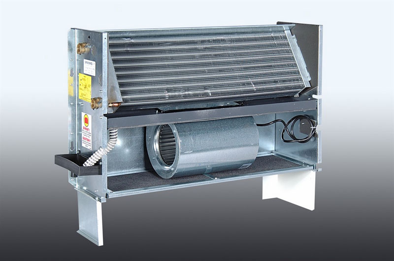 Радиатор обеспечивает перемещение жидкости заданной температуры, за счёт чего происходит охлаждение или нагрев воздушного пространства, через которое проходят потоки воздуха