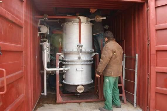 дровяной газогенератор