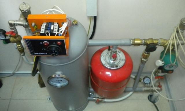 Электрокотел для отопления дома