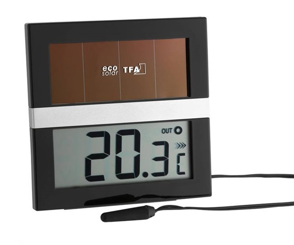 Электронный комнатный гигрометр.