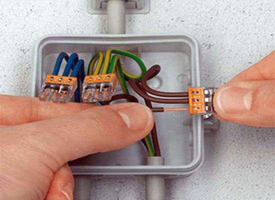 Клеммники для соединения проводов