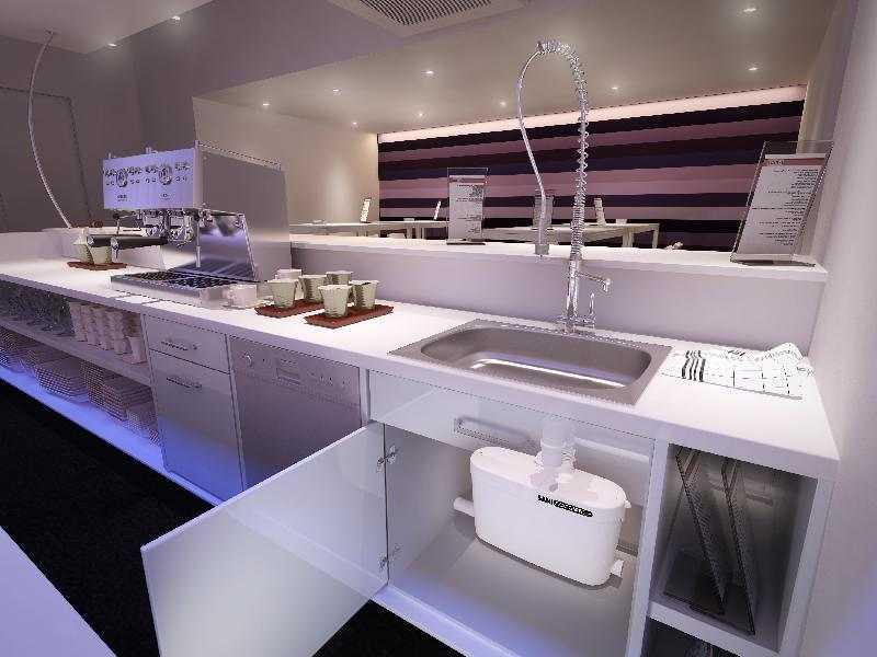 Канализационный насос может стоять на кухне - для отвода стоков от раковины и/или посудомоечной машины