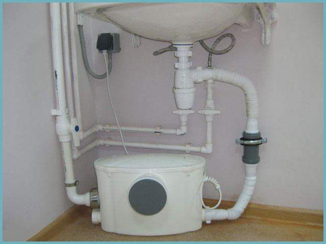как подключить канализационный насос