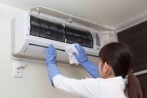 Как недорого своими руками почистить кондиционер в квартире