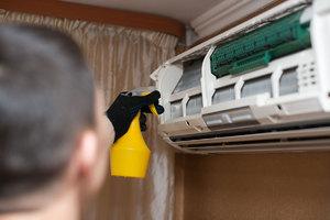 Подходящие средства для очистки кондиционера