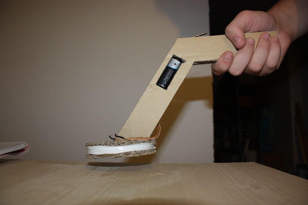 Самодельный металлоискатель из картона