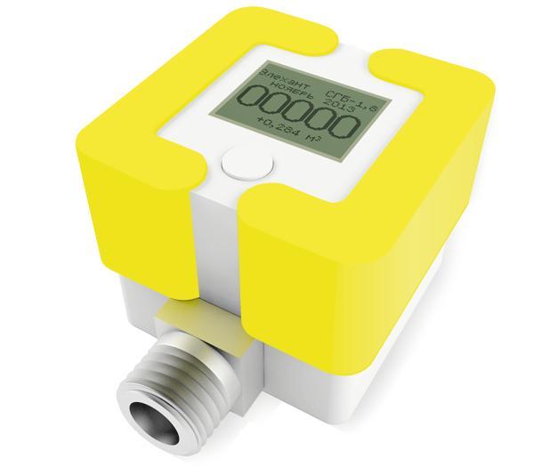 Электронные и механические газовые счетчики