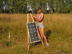 Переносные солнечные батареи для дома