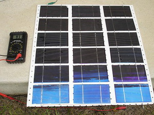 Солнечные панели, сделанные своими руками