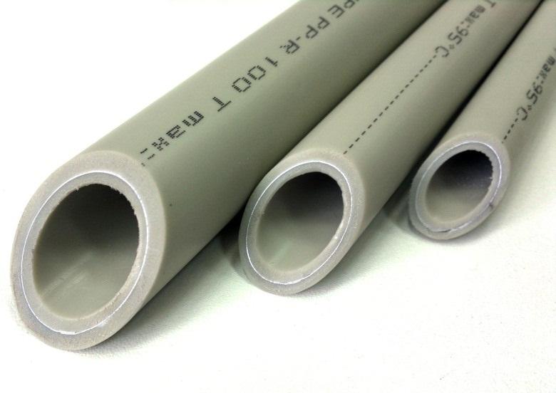 Полипропиленовые трубы с алюминиевым армированием. Также известны как Stabi