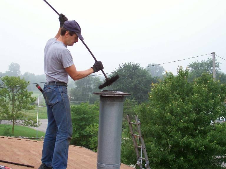 Без дефлектора дымоход быстро засоряется и нуждается в чистке