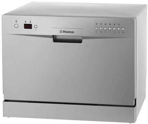 Компактная посудомоечная машина Ханса с выведенной фронтальной панелью задач