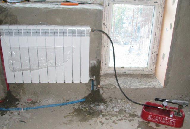 оборудование для промывки системы отопления многоквартирного дома