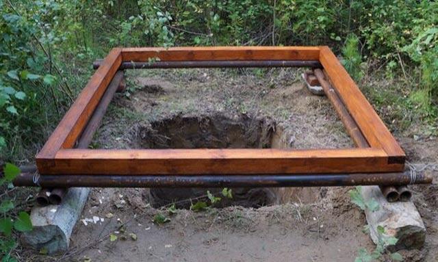 фундамент под туалет