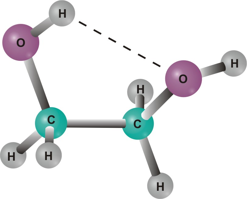 структура этиленгликоля