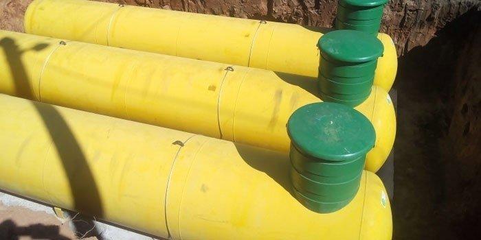 Наземный газгольдер Deltagaz 2700