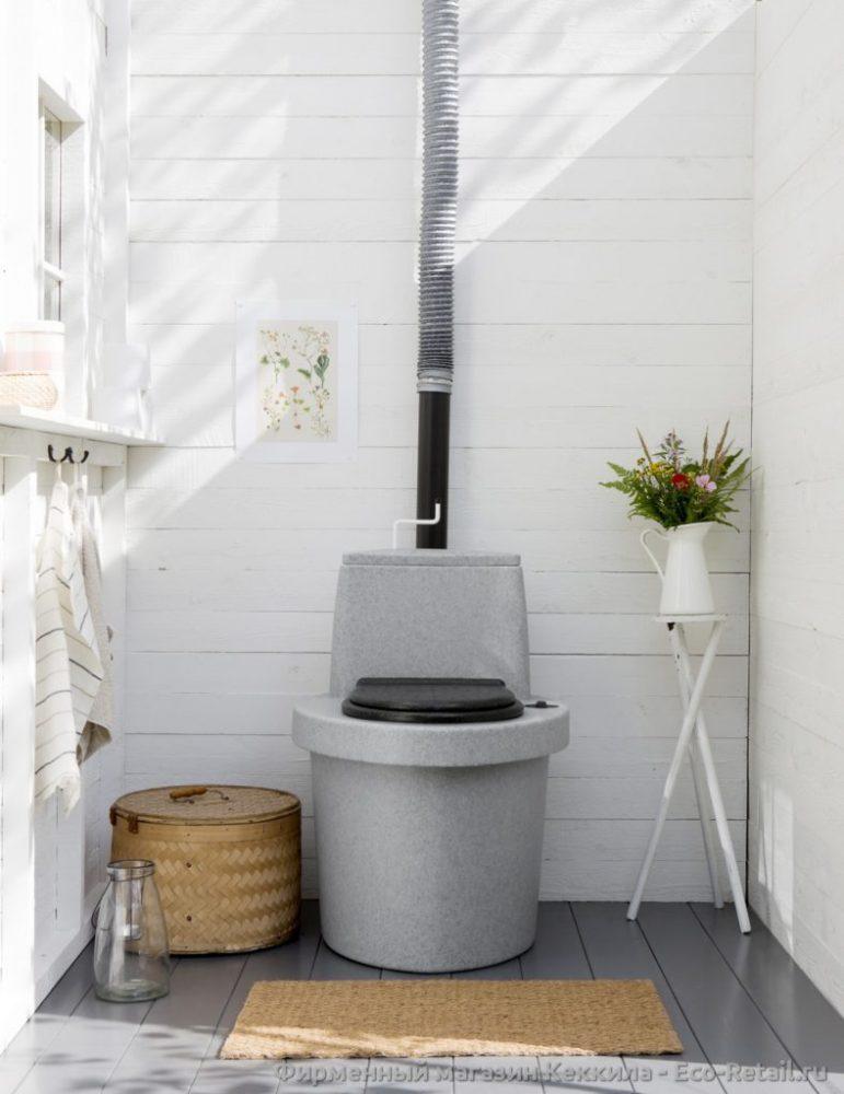 Правила постройки туалета из торфа