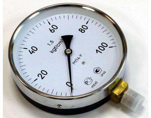 Манометр для газового баллона