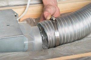 Восстановить вентиляционный короб