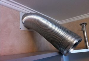 восстановить воздуховод на кухне