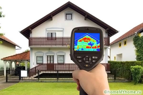 Утепление построек из бетона или камня повышает комфортные условия внутри здания