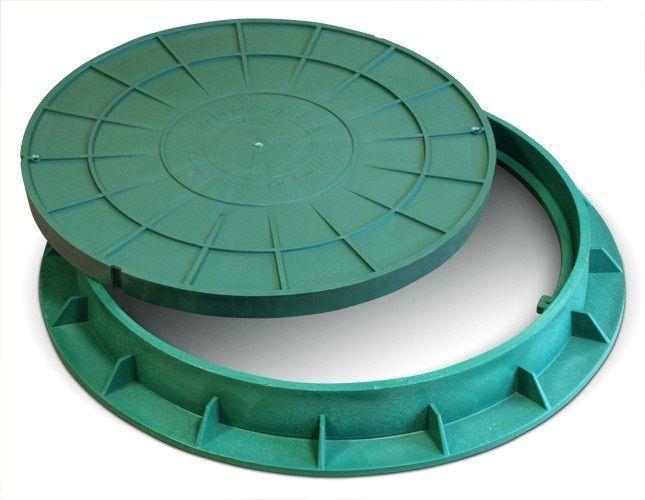 Люк для пластиковой выгребной ямы