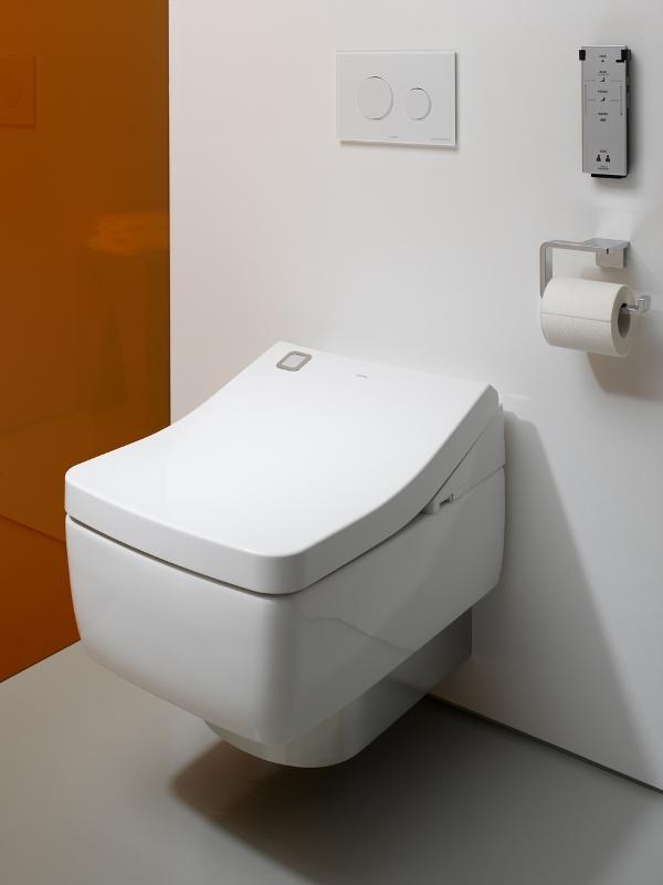 Автоматический смыв воды осуществляется посредством роботизированного прибора, который анализирует присутствие и отсутствие человека