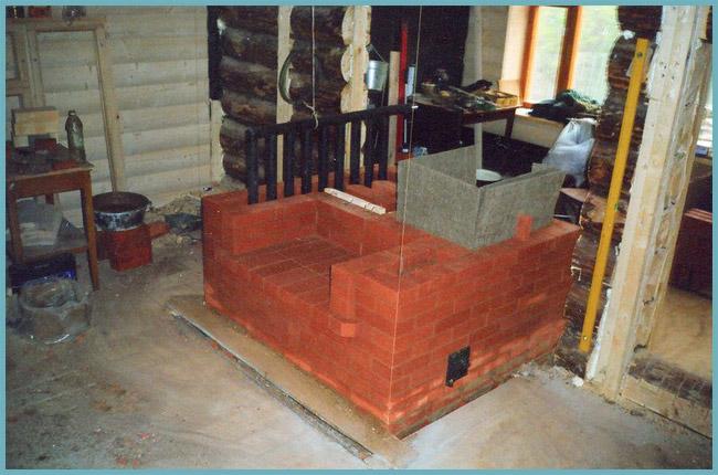 строительство печи с водяным котуром
