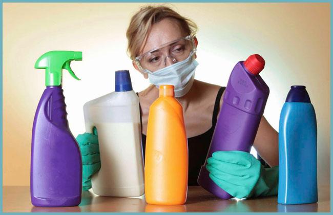 использование бытовой химии для чистки труб