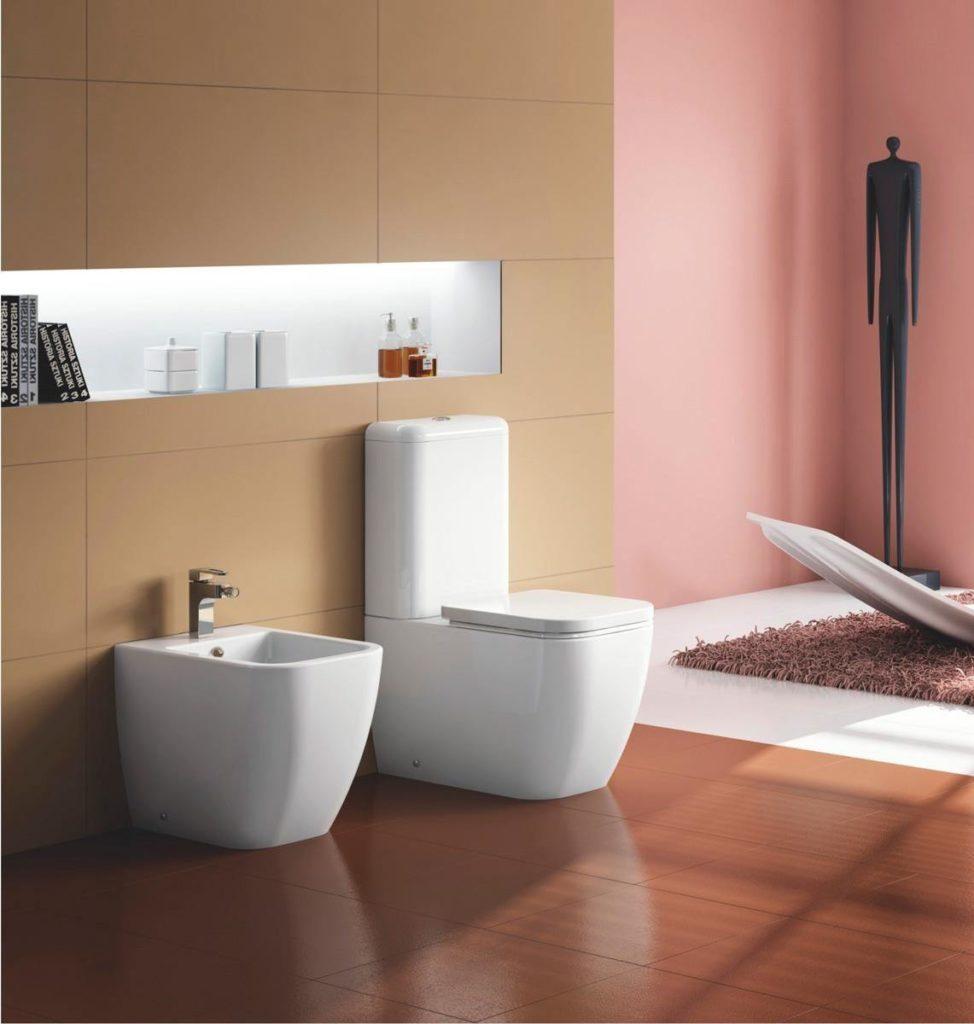 моноблок в ванной