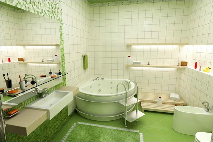 Позаботьтесь о правильной отделке ванной комнаты