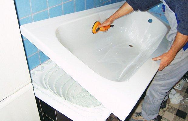 Снимаем мерки и чистим ванну – подготовка к процессу