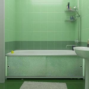 Экраны под ванной своими руками