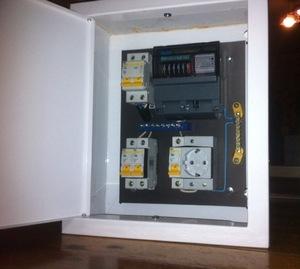 Электрический щиток под счетчик и автоматы