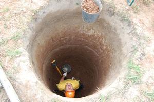 Как самим выкопать колодец